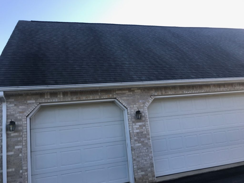 roof cleaning soft wash black streaks removal