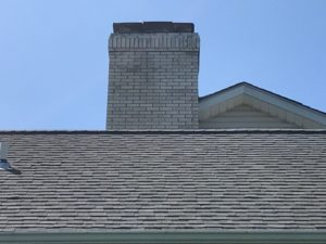 Roof cleaning non pressure soft wash