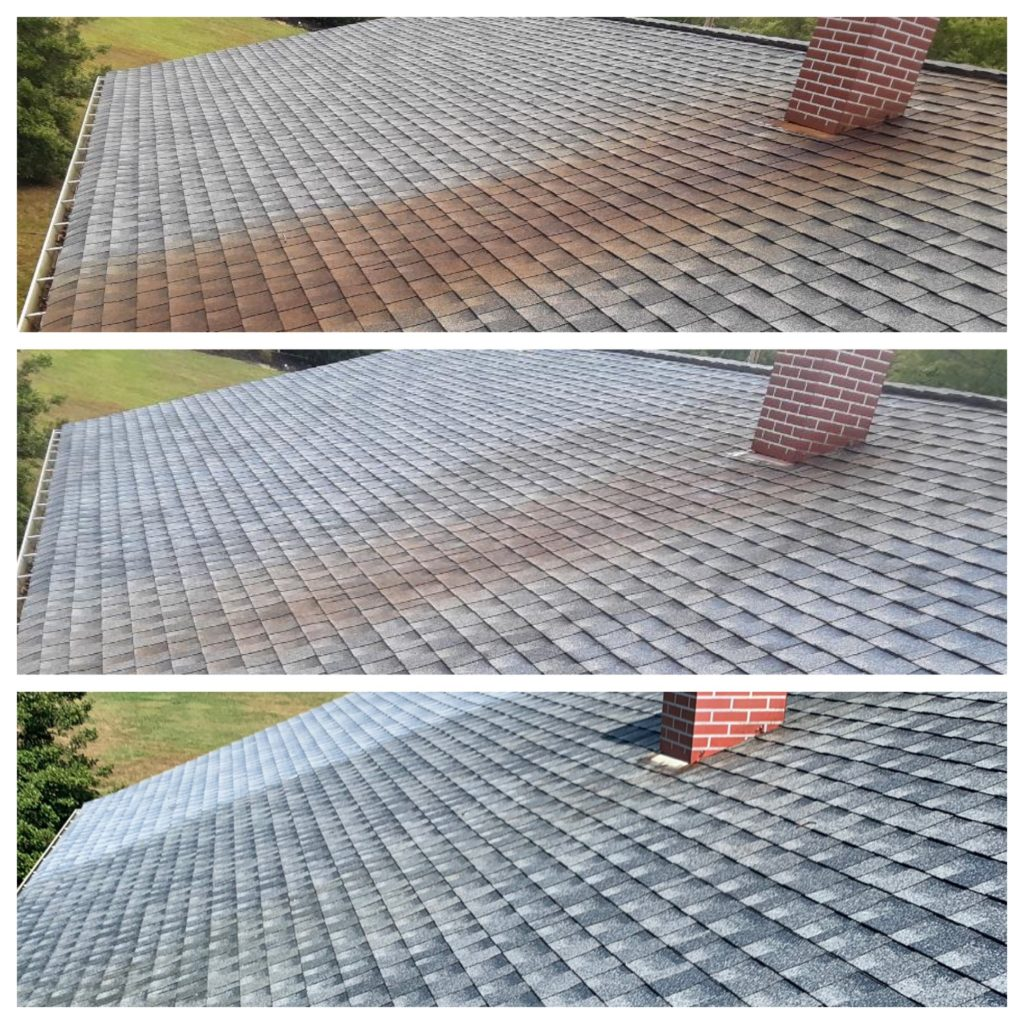 Rust Removal on Roof
