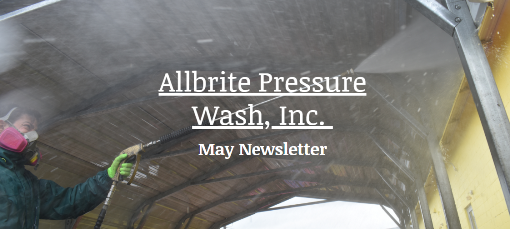 Pressure Wash newsletter